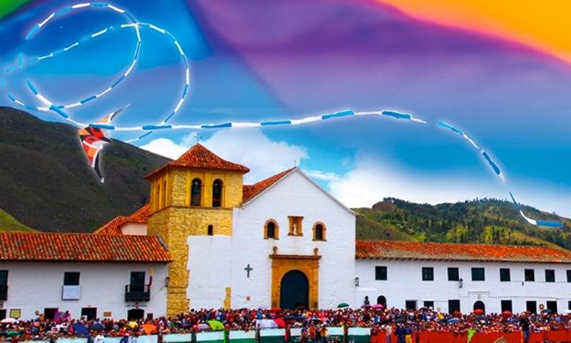 Festival de cometas de Villa de Leyva 2019