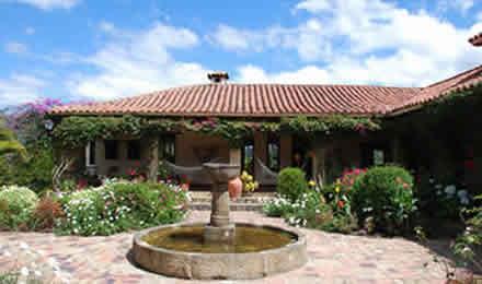 Casas campestres villa de leyva hoteles alquiler de casas for Casa de estilo campestre